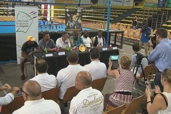 Championnat du monde boxe en Guyane