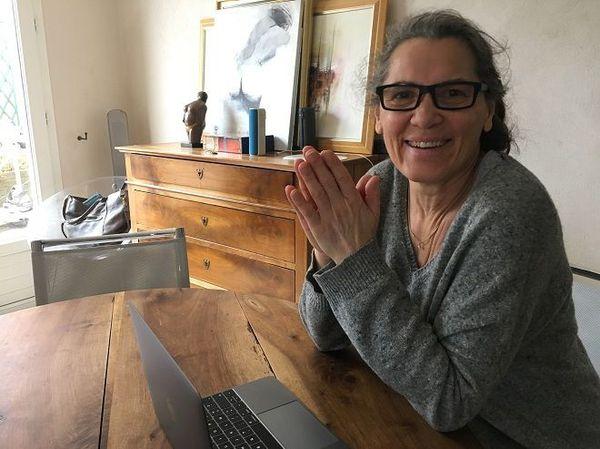 Marie-Lydie Prianon-Denis ancienne pensionnaire du centre d'adaptation à la vie métropolitaine de Crouy-sur-Ourcq
