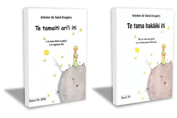 Petit Prince en français et tahitien