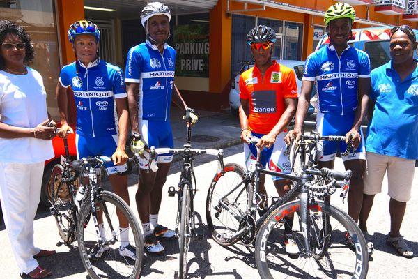 L'équipe Club Martinique
