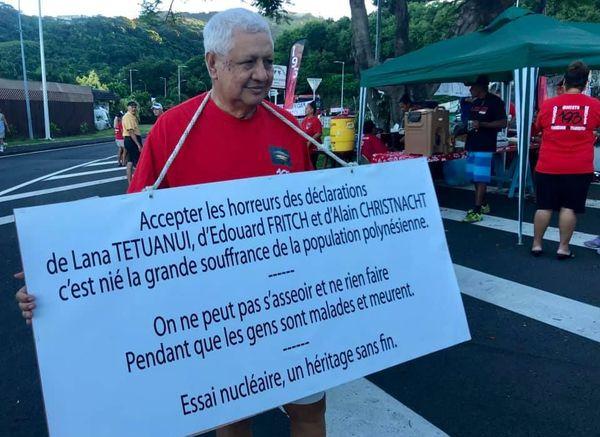 Le Tavini et l'association 193 manifestent au forum des ptom