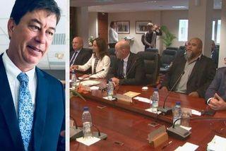 Thierry Santa élu président du 16eme gouvernement
