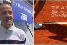 Jean-Louis Légasse, entraîneur St Pierre Tennis Action