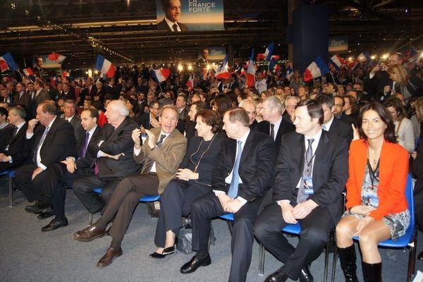 meeting de Nicolas Sarkozy en 2012 à Villepinte