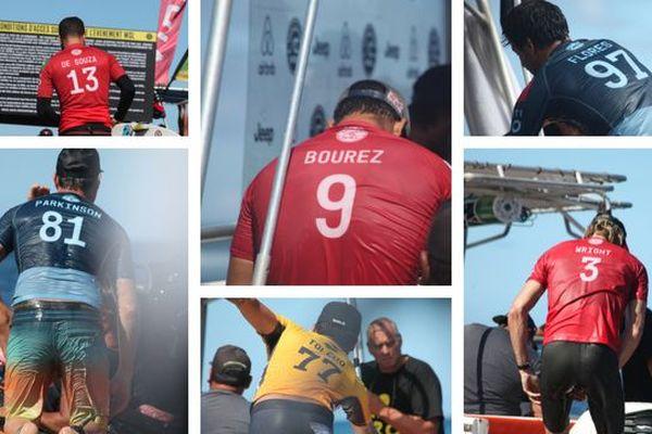Tahiti Pro - Les numéros sur les lycras des surfeurs : on vous explique !