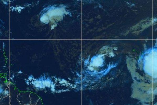 Cyclones en formation (07/09/2018)