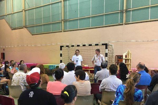 Huitième forum de l'emploi à Arue