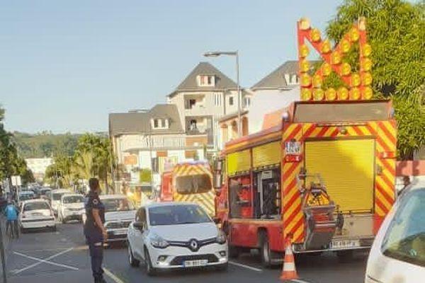 Motard décédé rue saint-louis à Saint-Paul
