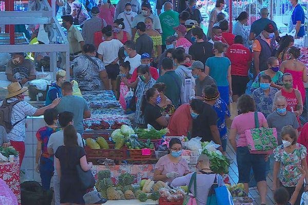 le marché de Papeete en temps de Covid-19