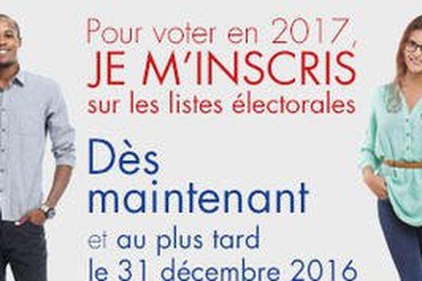 Pour voter en 2017