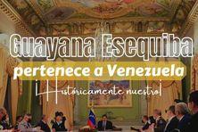 """Le Venezuela veut """"reconquérir"""" les deux tiers du Guyana."""