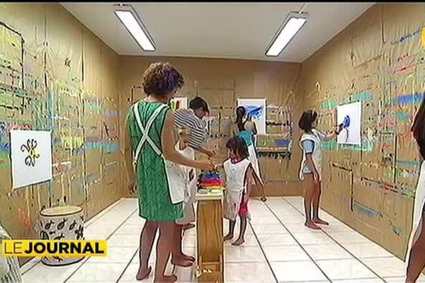 Jeu de peindre en Nouvelle calèdonie