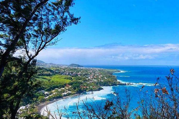 Ciel bleu sur Saint-Joseph 15 septembre 2020