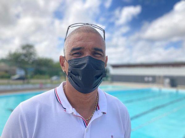 Thierry Verin, responsable du centre aquatique de Cayenne