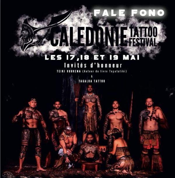 Visuel du Calédonie tattoo festival