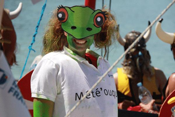 Une grenouille qui annonce une belle journée