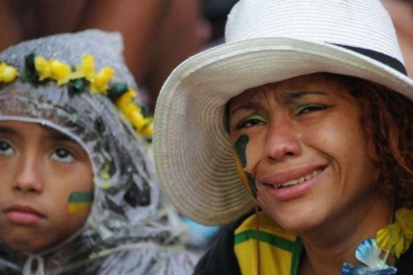 défaite Brésil