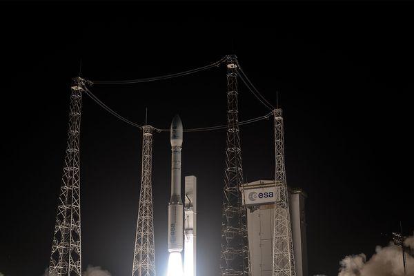 Lancement Vega vol numéro 3 en avril 2014