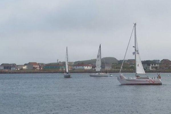 Voile : premier tour de Saint-Pierre-et-Miquelon en solitaire