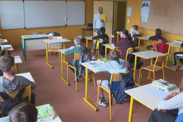 Jour de rentrée scolaire à Saint-Pierre et Miquelon