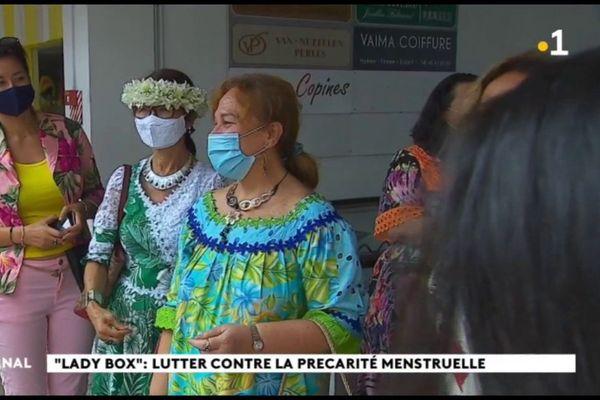 L' opération ''Lady box'' collecte des produits d'hygiène féminine