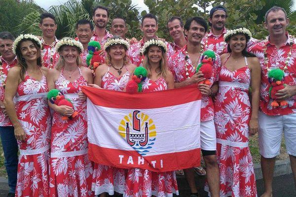 Océania de squash : l'argent pour Tahiti par équipe