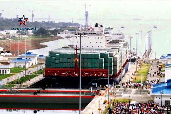 Cosco Shipping à Panama
