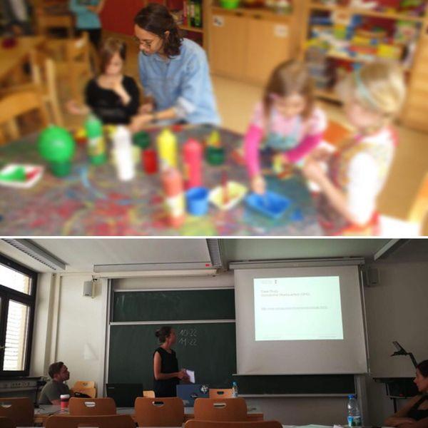 La métisse kanak a fait plusieurs séjours en Allemagne, à l'université ou comme assistante de langues