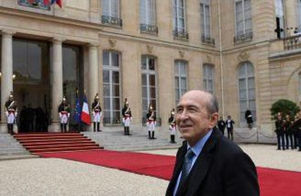Gérard Collomb, ministre de l'Intérieur