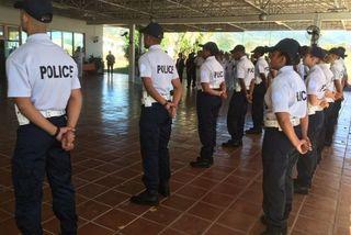 Cérémonie pour les nouveaux adjoints de sécurité (573110)