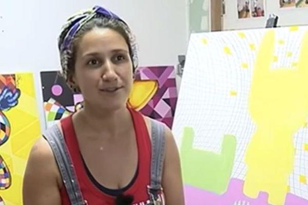 Street art : Emi Gutierrez, finaliste du concours
