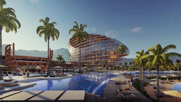 Hôtel n°3 - village tahitien