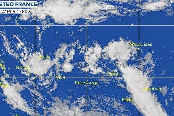 Le temps devrait se dégrader d'ici la fin de la semaine à Tahiti