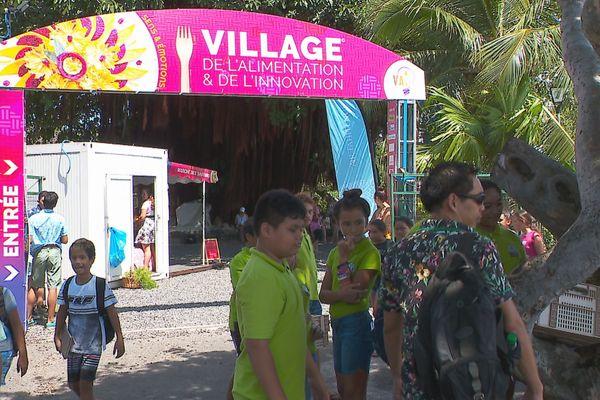 Le village de l'alimentation et de l'innovation a ouvert ses portes