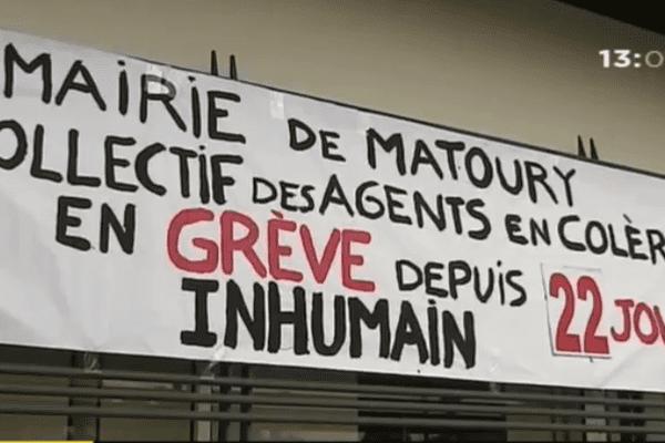 22 jours de grève à la mairie de Matoury