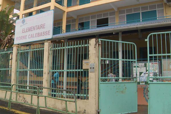 Morne Calebasse une école élémentaire de Fort-de-France