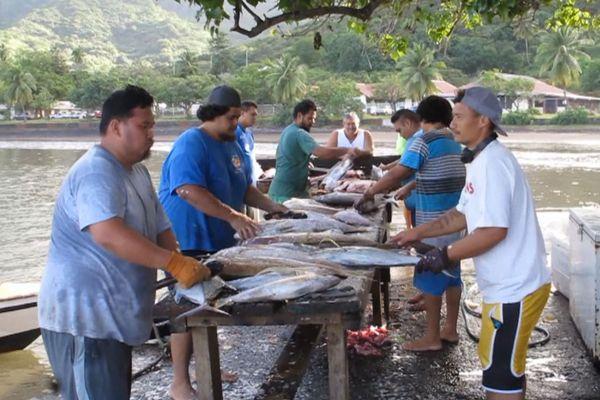 pêcheurs Nuku Hiva