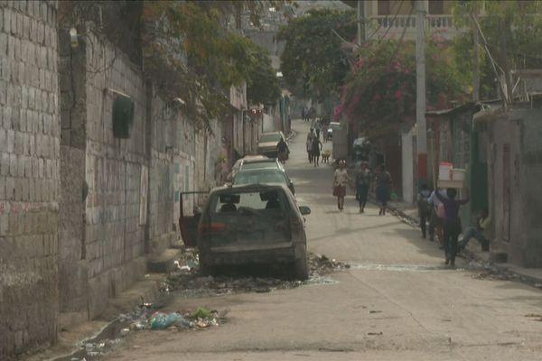 Haiti : les gangs à Martissant