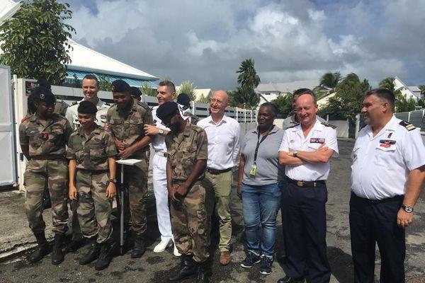 lutte contre la dengue à l'Anse Vinaigri