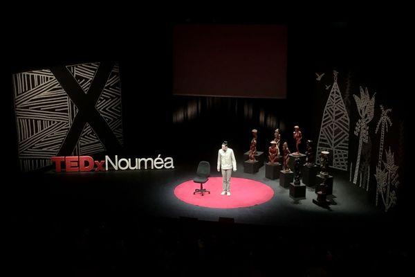Conférence Ted-X de juillet 2020, à Nouméa, Alexandre Martinez