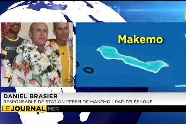 Les habitants de Makemo passent leur permis côtier