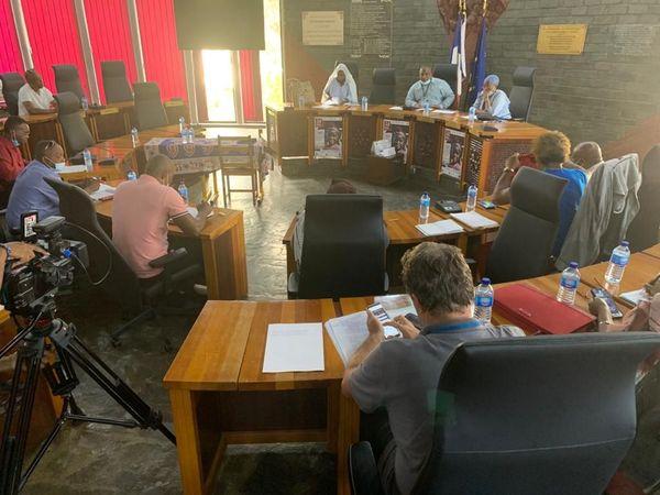 Ouverture du dialogue au Conseil Départemental