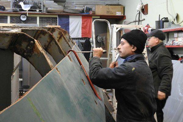 Emblème de l'histoire de la pêche artisanale à Saint-Pierre et Miquelon, les doris sont remis à flots par un association de passionnés