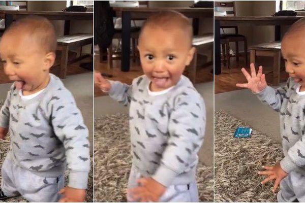 Un bébé danse le Haka