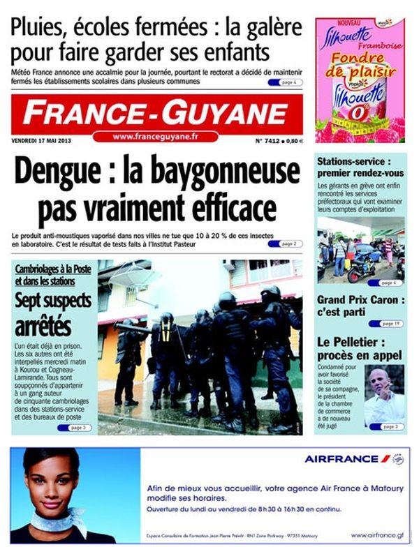 Une France guyane 17/05