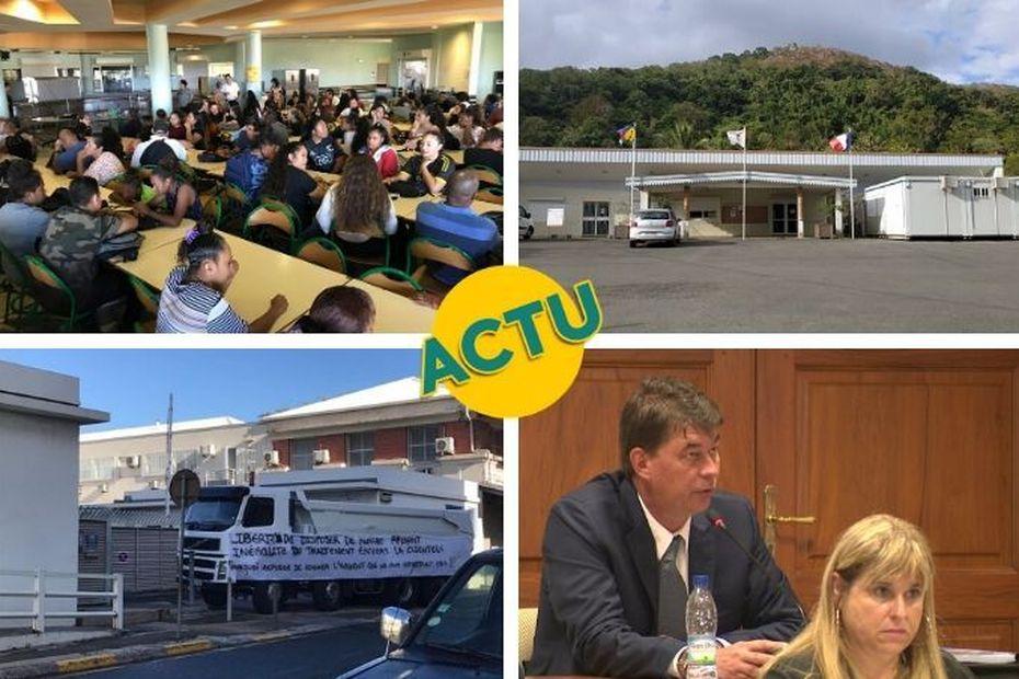 Rentrée scolaire, blocages, Thierry Santa à Paris : l'actu à la 1 du mardi 18 février 2020 - Nouvelle-Calédonie la 1ère