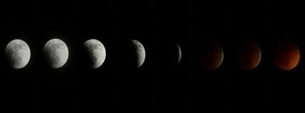 éclipse lune