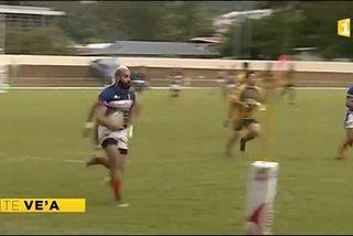 Rugby à 7 : Faaa a tout tenté mais les Bleus étaient trop forts