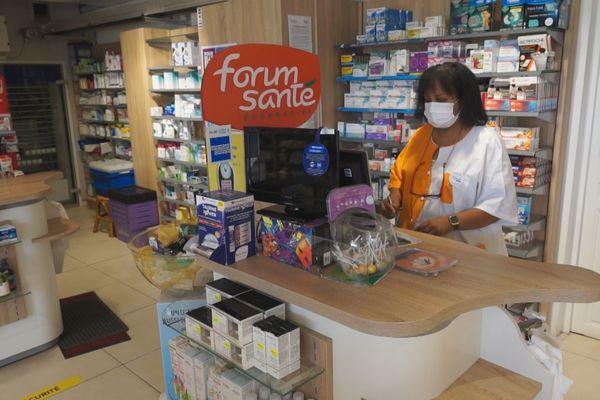 Liliane Pognon, présidente syndicat des pharmaciens de Guyane