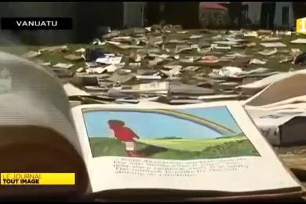 Vanuatu : les bibliothèques dévastées